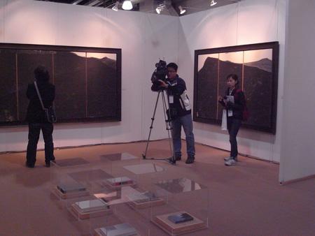 谢海艺术品鉴会暨朱珺书籍装帧设计展在上海