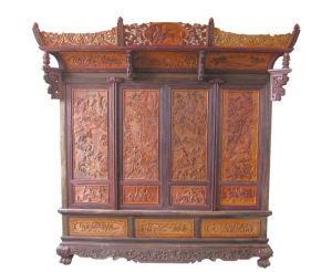 中国红木艺术家具网_中国收藏网---新闻中心--东阳红木家具企业参加中国木雕艺术展 ...