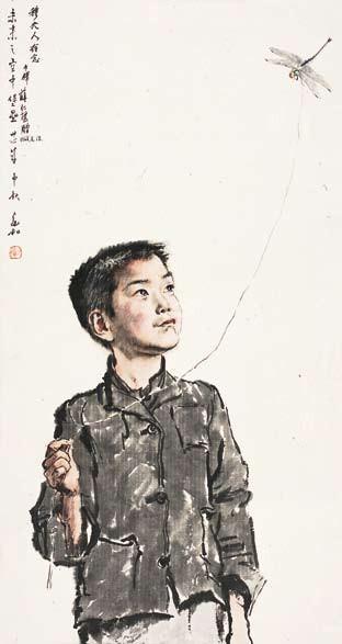 最终恰恰能够表现出中国水墨画中苍润,透亮的特质.