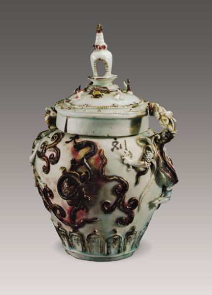 新闻资讯_中国收藏网---新闻中心--元代的青花釉里红瓷器(图)