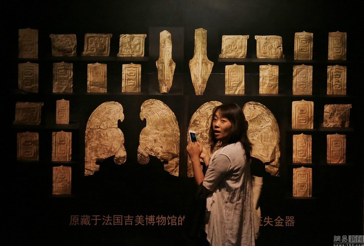 法国返还32件大堡子山流失文物回归特展在甘肃省博物馆开幕(图)