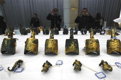 陕西盗掘西汉古墓葬案告破 1100余件文物被追回