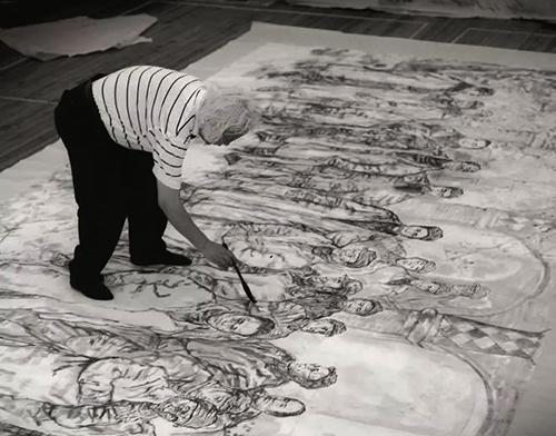 教育家、中国人物画家一一吴山明