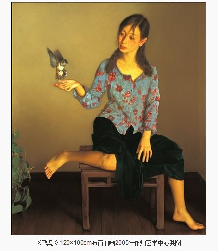 2004年之后,李贵君绘画的个人风格更加成熟.