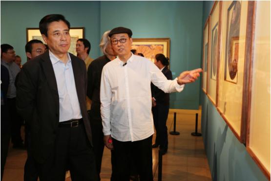 以心为本 万象尽绮——陈孟昕工笔画精品展在中国美术馆开幕