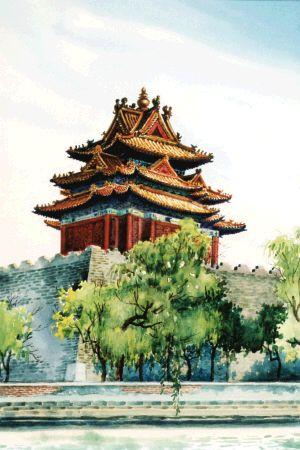 社会资讯_中国收藏网---新闻中心--刘恪山水彩画赏析