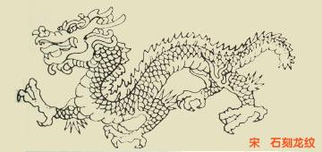 龙的画法素描图片 素描龙的画法,龙的画法与图画素描