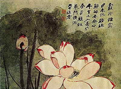 诗与画的结合也是随着书与画的结合而出现的