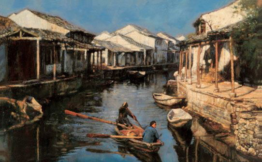 中国收藏网---新闻中心--上海油画拍场:市场调控
