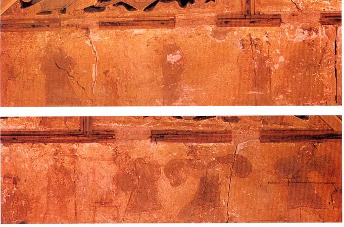 平陆枣园汉墓壁画_中国收藏网---新闻中心--秦汉绘画 paintings of Qin and Han Dynasties