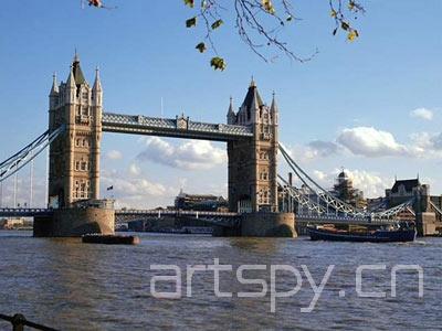 伦敦塔桥模型(图)