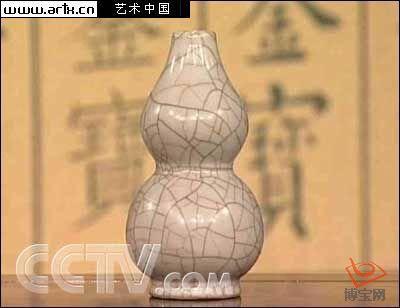 精美哥釉葫芦瓶 备受收藏专家关注(图)