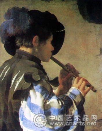 《吹笛少年》 (图)