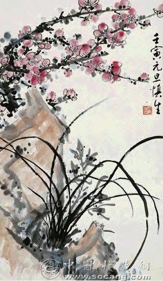 中国近代著名画家 汪慎生作品欣赏 - 爾東先生 - 爾東先生的博客
