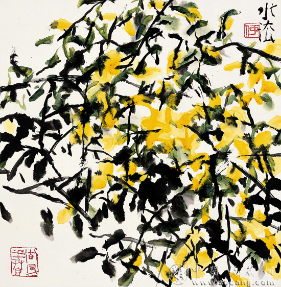 植物花卉黑白稿手绘