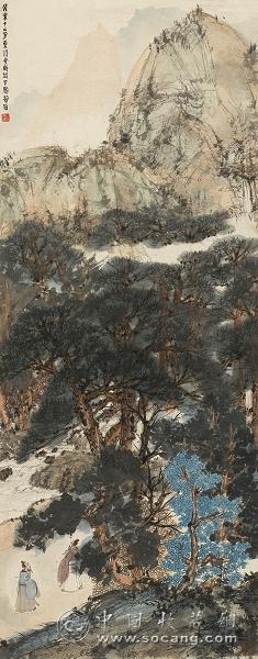 本专场的封面是徐悲鸿先生的巨作《鹤寿千年》