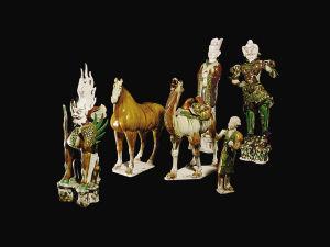 大英博物馆内的中国文物