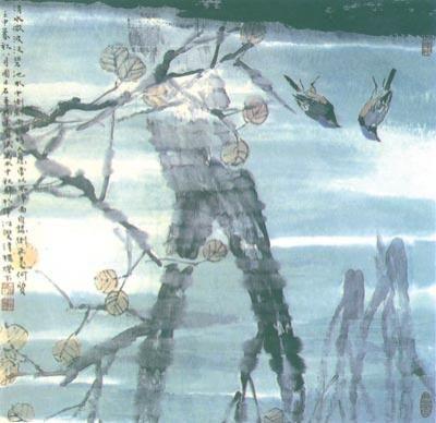 谈写意花鸟画的构图 遵循十六字诀