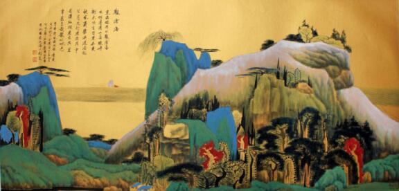 """""""七八岁的时候接触到《三国志》,《岳飞传》,《西游记》这样的连环画"""