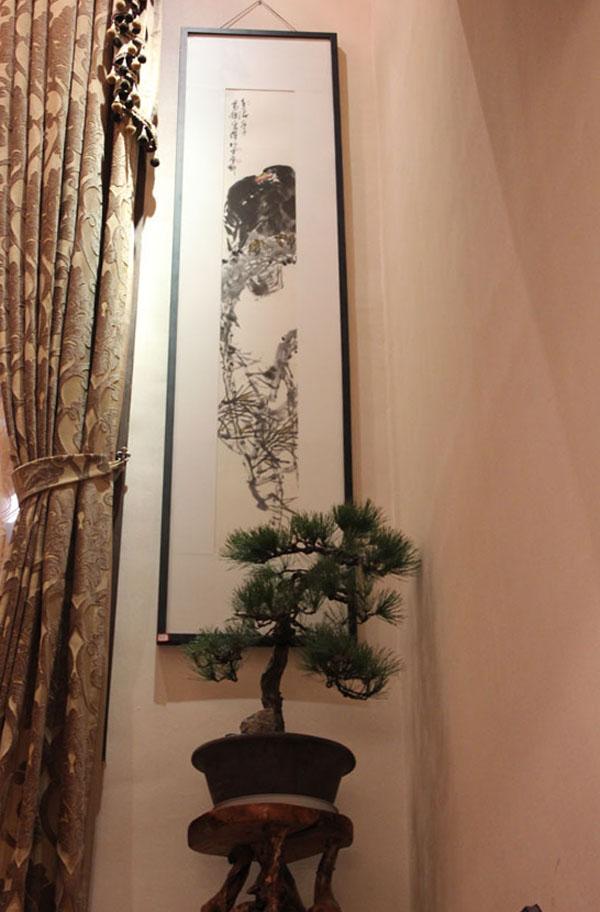 毕宏伟花鸟画作品展在江南艺术会馆举行