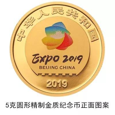 【發行公告】2019年中國北京世界園藝博覽會貴金屬紀念幣